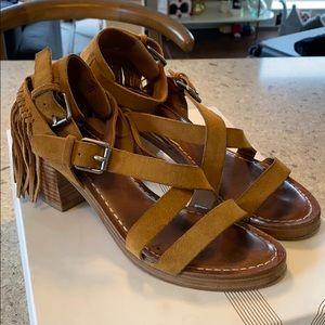 Belle by Sigerson Morrison Fringe Sandals Size 7
